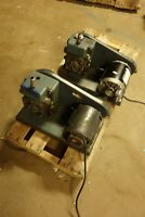 Lot of 2 Welch Duo-Seal Vacuum Pumps for rebuild