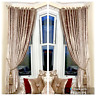 Curtains Ring Top Eyelet Ready Made Lined Crushed Velvet long Champagne Gold