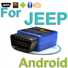 For JEEP OBD 2 Android Scanner CAN Diagnostics Reader Wireless Bluetooth Tool