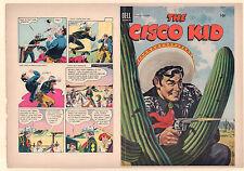 The Cisco Kid #23 Unused Comic Book Cover - DELL (Grade 9.2) 1954