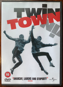 Twin Town DVD 1997 Welsh British Cult Comedy Movie with Rhys Ifans