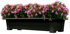 Large Resin Plastic Outdoor Deck Garden Patio Flower Planter Planter Box Pot New
