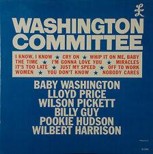 Washington Committee Lloyd Price POOKIE HUDSON Wilson PICKETT+ mono PROMO LP