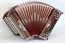 Steirische Harmonika BELTUNA Alpstar II D de Luxe, Michlbauer, G-C-F, Nuß # 11