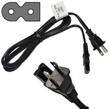 6ft AC Power Cord for Behringer MS20 / MS40 Multimedia Speakers, Mains Cable