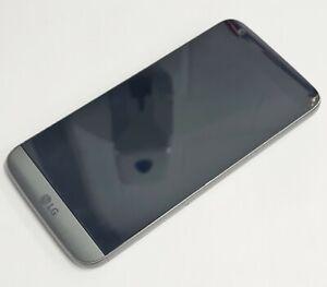 Faulty LG G5 - 32GB - Titan Unlocked Android Broken Damaged Cracked Screen