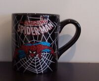 Marvel Comics Amazing Spider-Man Glitter Accents 14oz Ceramic Coffee Mug Tea Cup