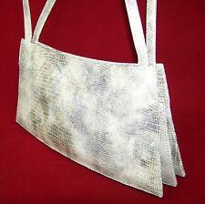 222ff5678c421 edle Damen Handtasche Leder Schlangen-Optik Abendtasche Schultertasche  Clutches