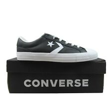 Converse Star Player OX Leather Black White Sneakers Size 9 Mens NEW 159780C