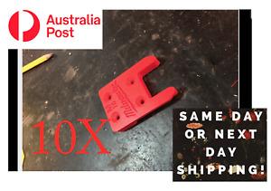 10X Milwaukee M18 tool holder mount bracket storage 18v, screw on