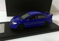 Rare!! Mugen RR Honda Civic TYPE-R 1/43 Scale Resin Model Car Blue