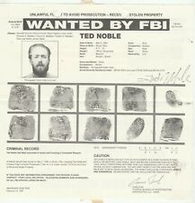 FBI WANTED POSTER TED NOBLE-FLIGHT TO AVOID PROSECUTION-STOLEN PROPERTY 5-7-96