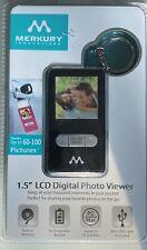 "MERCURY INNOVATIONS 1.5"" LCD DIGITAL PHOTO VIEWER PORTABLE KEYCHAIN BN Fr Shp"