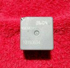 SIEMENS TYCO 4 PIN RELAY 3604 SATURN OLDSMOBILE GMC CHEVY PONTIAC 12193604
