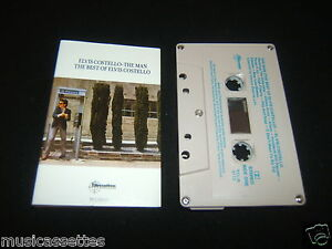 ELVIS COSTELLO THE MAN THE BEST OF AUSTRALIAN CASSETTE TAPE
