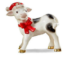 Lenox Noelle Cow The Christmas Cow Figurine New in Box Free Ship!