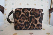 NWT Michael Kors Mini Selma Calf Hair & Leather Messenger Crossbody Handbag