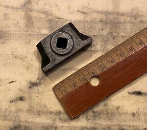 Schließzeug original Druckerei Bleisatz Handsatz Drucken Tiegel Druckpresse alt'