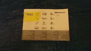 Bmw 3 Series E90 318d Diesel Owners Manual Hand Book Service History 2011r