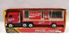 Buddy L Coca-Cola Delivery Truck w/ Coke Trays and Hand Truck 1985 NIB