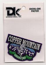 COPPER MOUNTAIN  COLORADO SOUVENIR SKI PATCH - SKIING SNOWBOARDING