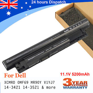 For Dell Inspiron 15R-5521 3521 15-3521 17-3721 Laptop Battery MR90Y 58Wh 11.1V