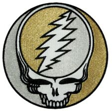 Grateful Dead Steal Your Face Medium Embroidered Patch G044P Phish Jerry Garcia