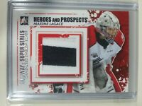 2011-12 ITG Heroes And Prospects Maxime Lagace Subway Super Series Patch Silver