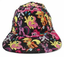 MY LITTLE PONY PONIES ALL OVER PRINT BASEBALL HAT CAP NEW OFFICIAL
