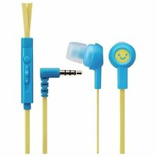 ELECOM EHP-CS3520M F1 In-Ear Headset for Smartphones Smile 1 NEW from Japan