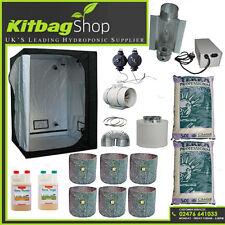"Canna Complete Hydroponic Grow Room Tent Fan Light Kit 600w 120x120x200 5"" cool"