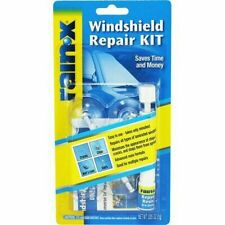 Rain-X Windscreen Resin Repair Kit FIX Glass CRACKS CHIPS DIY rain x rainx