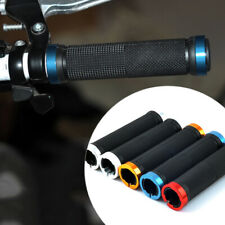 New Metal MTB BMX Bike Bicycle Double Lock On Locking Cycling Handle Bar Grips