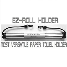 EZ-Roll Holder, Paper Towel Holder for Outdoors, Camping, RV, Grilling etc
