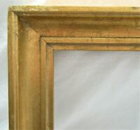 "VINTAGE FITS 9"" X 12"" GOLD GILT WOODED PICTURE FRAME FINE ART"
