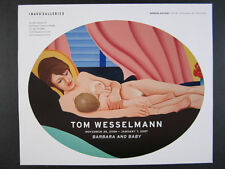 2006 Tom Wesselmann Barbara & Baby painting Imago Galleries vintage print Ad