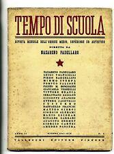 TEMPO DI SCUOLA#Mensile Ord. Medio/Superiore/Artistico-An.II-N.8#Giugno 1941