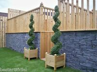 2 Best Artificial 5ft 150cm Topiary Spiral Boxwood Buxus Outdoor Trees Grass New