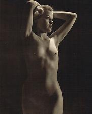1930s Vintage John Everard Female Nude Glamour Model Photo Gravure Print