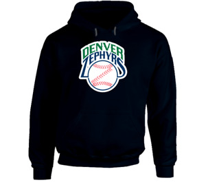 Denver Zephyrs minor league baseball hoodie hooded sweatshirt Bears Rockies