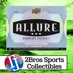 2020-21 Allure Hockey 10 Hobby Box Inner Case Break 9/24 1pm CST - Canadiens