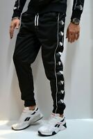 WHITE OFFICIAL - Pantalone Joggers Di Tuta Uomo Casual Nero Triacetato 2020
