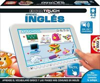 Juguete Educativo Para Aprender Ingles Educa Borrás Touch Junior Aprendo Ingles