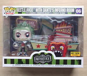 Funko Pop Town Beetlejuice With Dante's Inferno Room + Free Protector