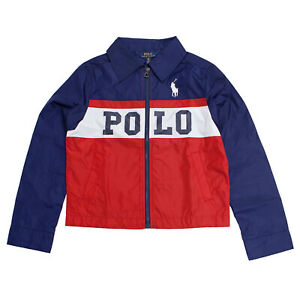 Polo Ralph Lauren Boy's Lightweight Windbreaker Jacket