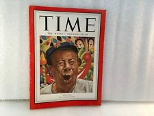 Time Magazine October 1 1951 Bert Lahr No Label