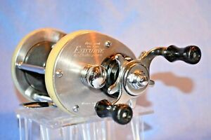 OLD VINTAGE ROD REEL SHAKESPEARE 1992 FREE SPOOL EXECUTIVE QU. COLLECTIBLE LURE