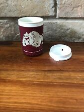 Vintage Mississippi State University Dining Services Bulldogs Insulated Mug