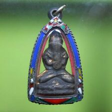 AWESOME! REAL PIDTA LP EIAM OLD THAI AMULET VERY RARE !!!