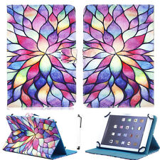 """For Amazon Kindle Fire HD 10 2017 10.1"""" Print Universal PU Leather Case Cover"""